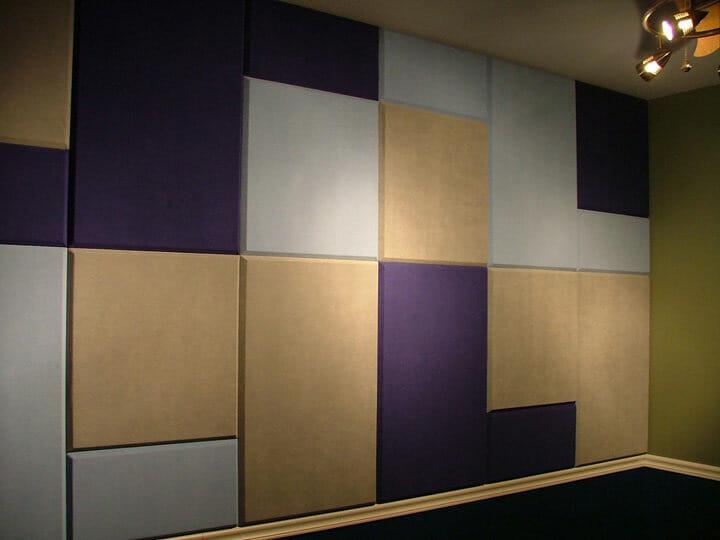 acoustical fabric panels